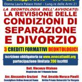 """CONVEGNO 22/5/19 : """"LA REVISIONE DELLE CONDIZIONI DI SEPARAZIONE E DIVORZIO"""""""